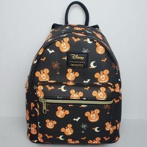 Loungefly Mickey Mouse Pumpkin Mini Backpack
